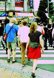 外国人観光客の増加
